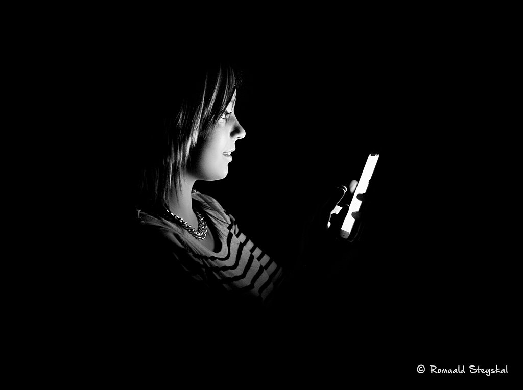 Addicted to mobile phone