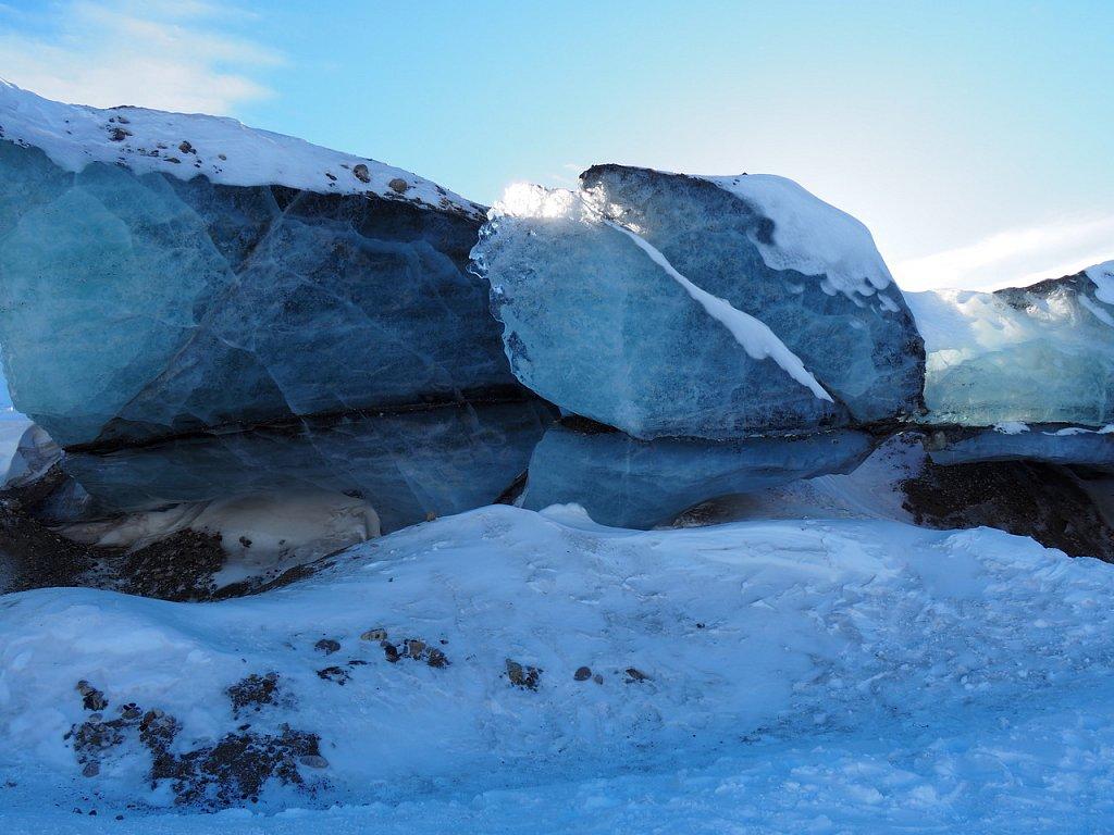 Fin du glacier